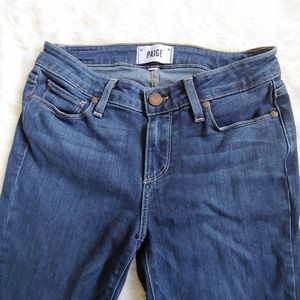 Paige Verdugo crop jeans